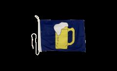 Drapeau pour bateau Bière - 30 x 40 cm