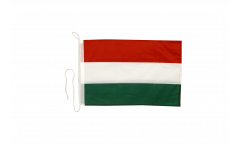 Drapeau pour bateau Hongrie - 30 x 40 cm