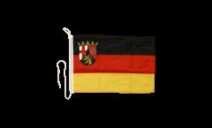 Drapeau pour bateau Allemagne Rhénanie-Palatinat - 30 x 40 cm