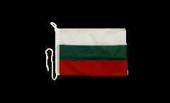 Drapeau pour bateau Bulgarie - 30 x 40 cm