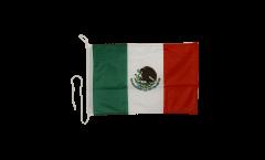 Drapeau pour bateau Mexique - 30 x 40 cm