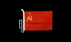 Drapeau pour bateau URSS - 30 x 40 cm