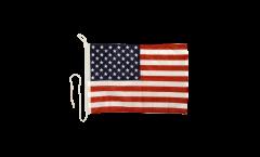 Drapeau pour bateau USA Etats-Unis - 30 x 40 cm