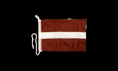 Drapeau pour bateau Lettonie - 30 x 40 cm