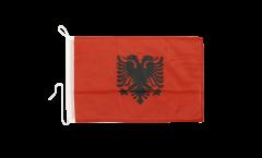 Drapeau pour bateau Albanie - 30 x 40 cm