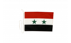 Drapeau pour bateau Syrie - 30 x 40 cm