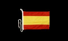 Drapeau pour bateau Espagne sans Blason - 30 x 40 cm