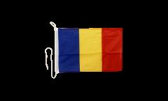Drapeau pour bateau Roumanie - 30 x 40 cm