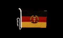 Drapeau pour bateau Allemagne RDA - 30 x 40 cm