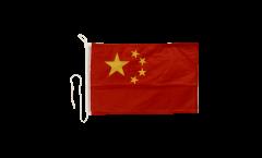 Drapeau pour bateau Chine - 30 x 40 cm