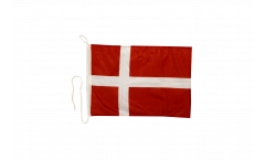 Drapeau pour bateau Danemark - 30 x 40 cm