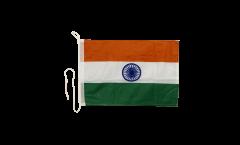 Drapeau pour bateau Inde - 30 x 40 cm