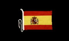 Drapeau pour bateau Espagne - 30 x 40 cm