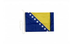 Drapeau pour bateau Bosnie-Herzégovine - 30 x 40 cm