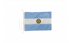Drapeau pour bateau Argentine - 30 x 40 cm