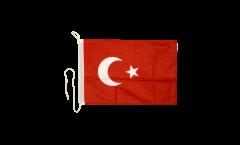 Drapeau pour bateau Turquie - 30 x 40 cm