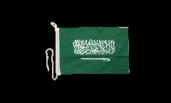 Drapeau pour bateau Arabie Saoudite - 30 x 40 cm