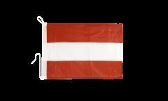 Drapeau pour bateau Autriche - 30 x 40 cm
