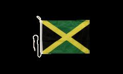 Drapeau pour bateau Jamaique - 30 x 40 cm