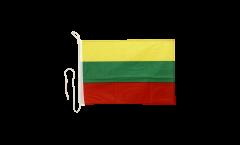 Drapeau pour bateau Lituanie - 30 x 40 cm