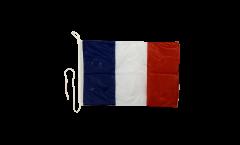 Drapeau pour bateau France - 30 x 40 cm