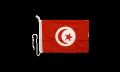 Drapeau pour bateau Tunisie - 30 x 40 cm