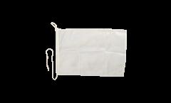 Drapeau pour bateau Blanc - 30 x 40 cm