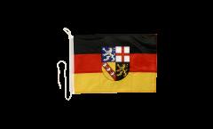 Drapeau pour bateau Allemagne Sarre - 30 x 40 cm