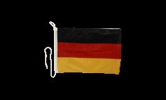 Drapeau pour bateau Allemagne - 30 x 40 cm