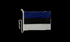 Drapeau pour bateau Estonie - 30 x 40 cm