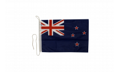 Drapeau pour bateau Nouvelle-Zélande - 30 x 40 cm