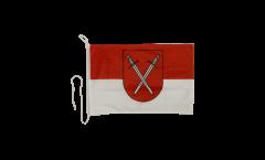 Drapeau pour bateau Allemagne Schwerte - 30 x 40 cm