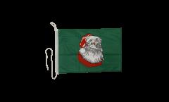 Drapeau pour bateau Père Noel - 30 x 40 cm