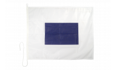 Drapeau du signal Sierra (S) - 75 x 90 cm