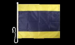 Drapeau du signal Delta (D) - 75 x 90 cm