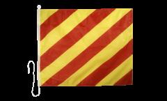 Drapeau du signal Yankee (Y) - 75 x 90 cm