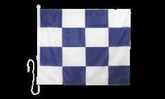 Drapeau du signal November (N) - 75 x 90 cm