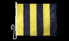 Drapeau du signal Golf (G) - 75 x 90 cm