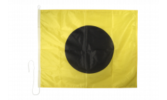 Drapeau du signal India (I) - 75 x 90 cm