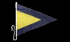 Drapeau du signal de substitution 1 - 60 x 90 cm