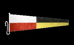 Drapeau du signal numérique 9 - 45 x 180 cm