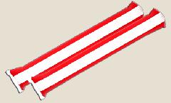 Airsticks Autriche - 10 x 60 cm