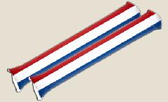 Airsticks Pays-Bas - 10 x 60 cm