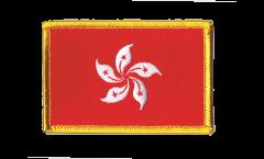 Écusson brodé Hong Kong - 8 x 6 cm