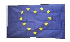 Drapeau Union européenne UE à Coeur - 90 x 150 cm