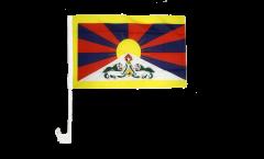 Drapeau de voiture Tibet - 30 x 40 cm