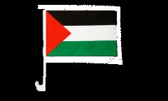 Drapeau de voiture Palestine - 30 x 40 cm
