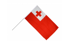 Drapeau Tonga sur hampe - 60 x 90 cm