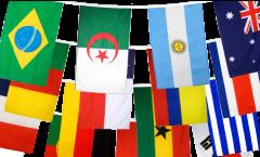 Guirlande Coupe du Monde 2014 - 15 x 22 cm