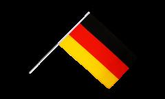 Drapeau Allemagne sur hampe - 60 x 90 cm